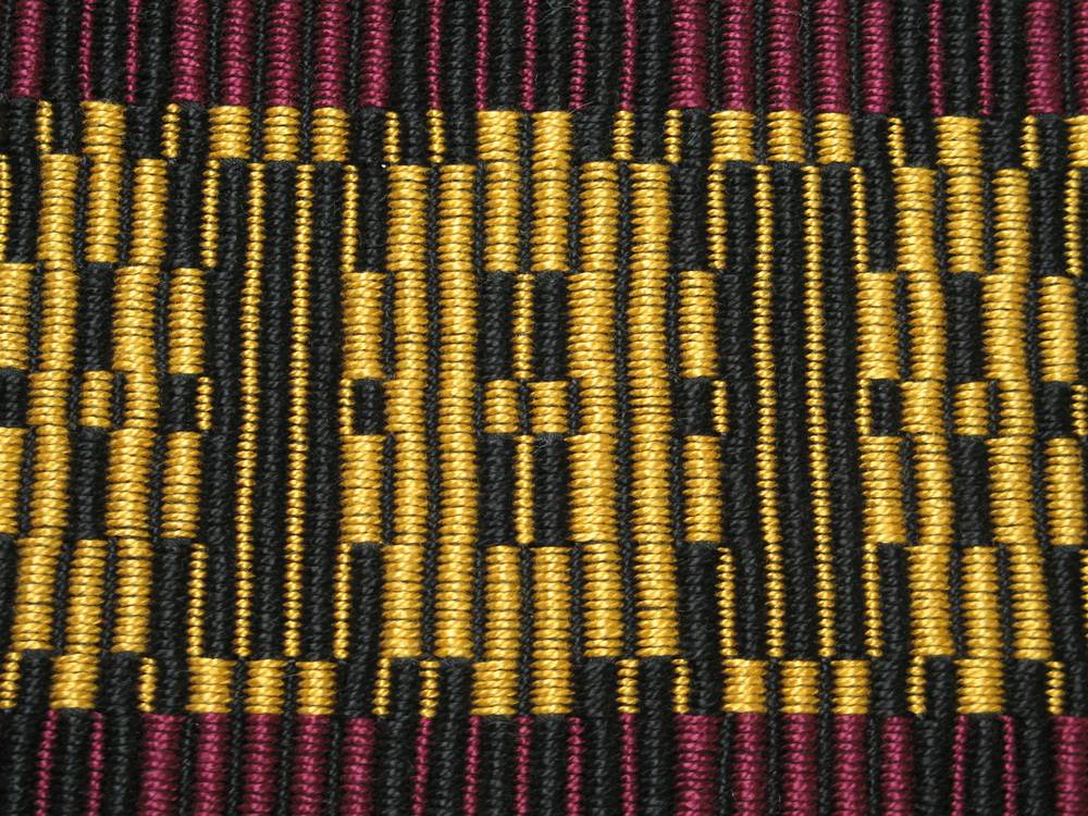 Warp Rep Runner by Karen DeGeal