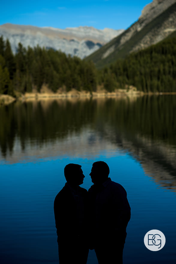 Banff springs wedding LGBTQ gay photographers