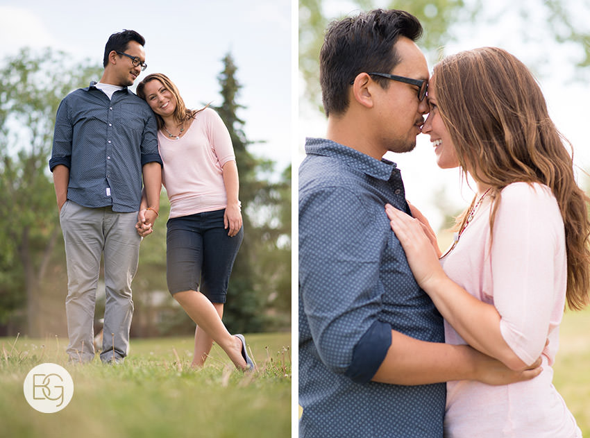proposal photographer edmonton calgary park