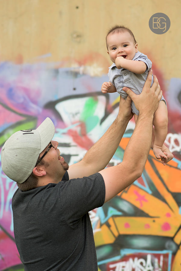 fathers day photo edmonton photographer infant baby child with dad