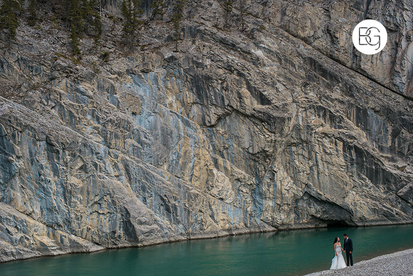 canmore elopement photographer mountains