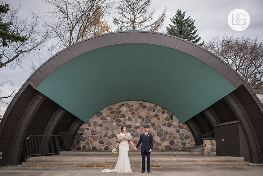 Borden park edmonton wedding