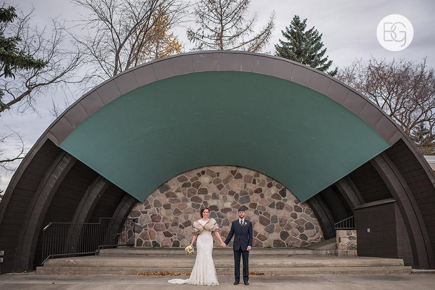 Borden park edmonton wedding