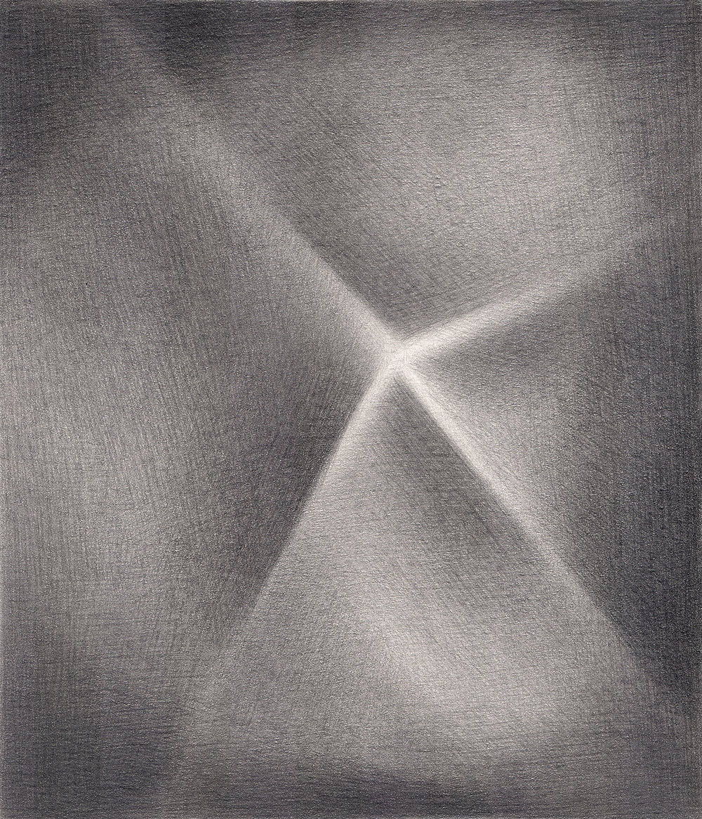 "Sentimental Device , 2007. Graphite on paper. 6"" x 7""."