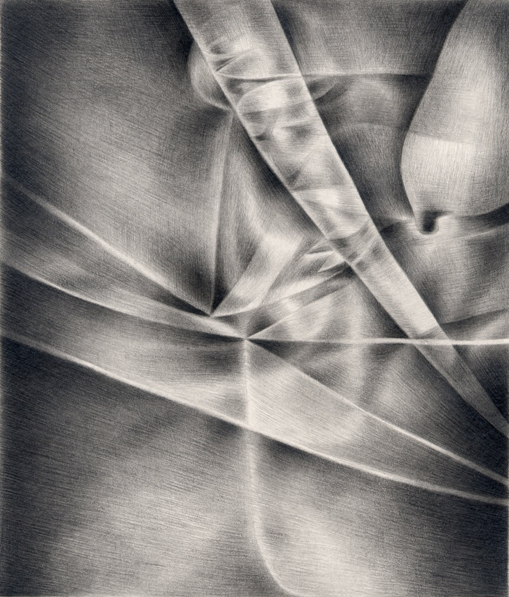"Express , 2003. Graphite on paper. 6"" x 7""."