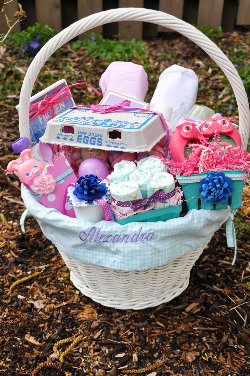 Babys first easter basket aj cj play 5 use this as an opportunity to try new baby brands negle Gallery