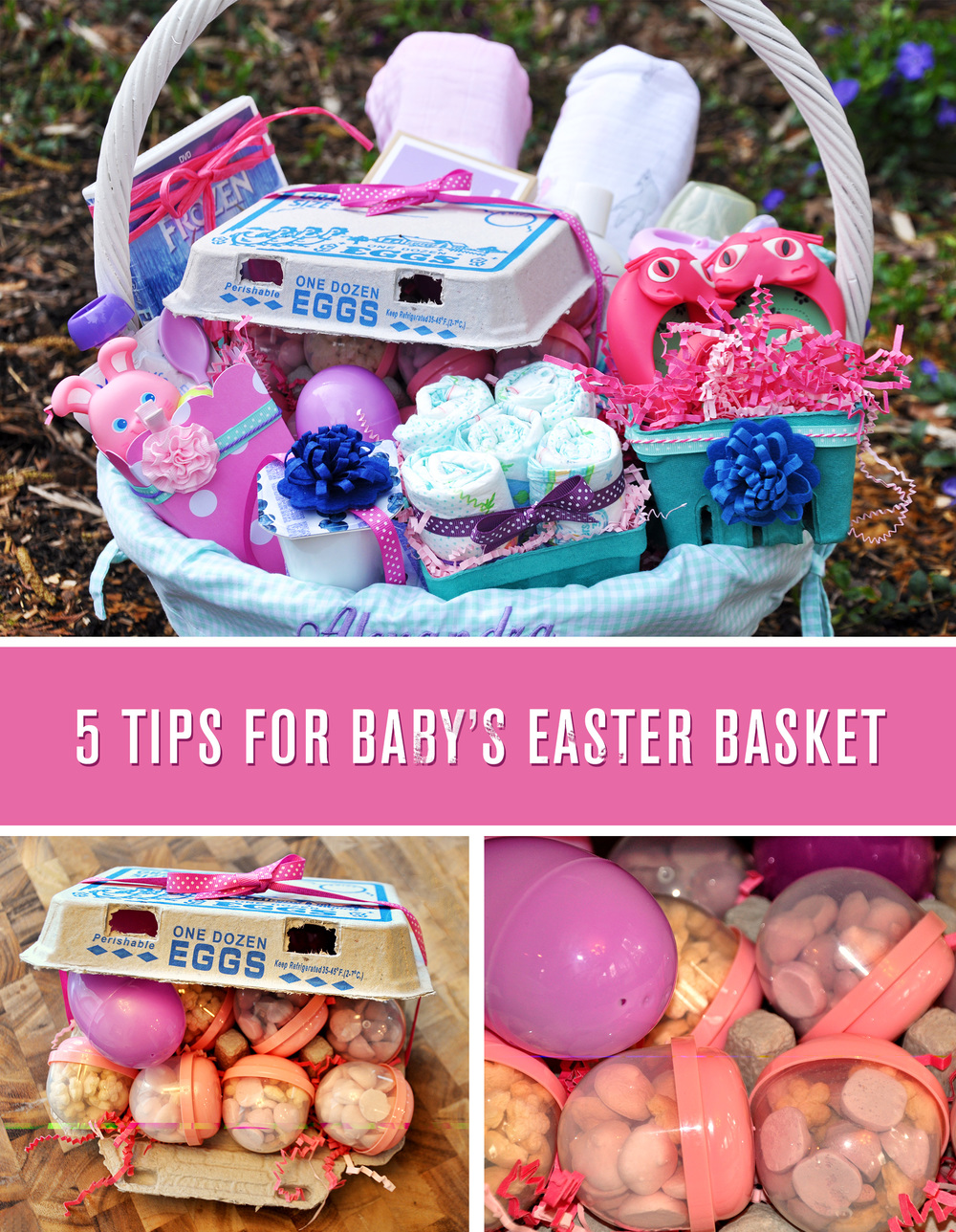 Babys first easter basket aj cj play allies first easter basket ideas negle Gallery