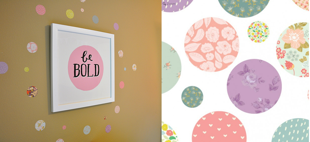 Be Bold Wall Art  |  Love Mae Pretty Polkadot Wall Decals