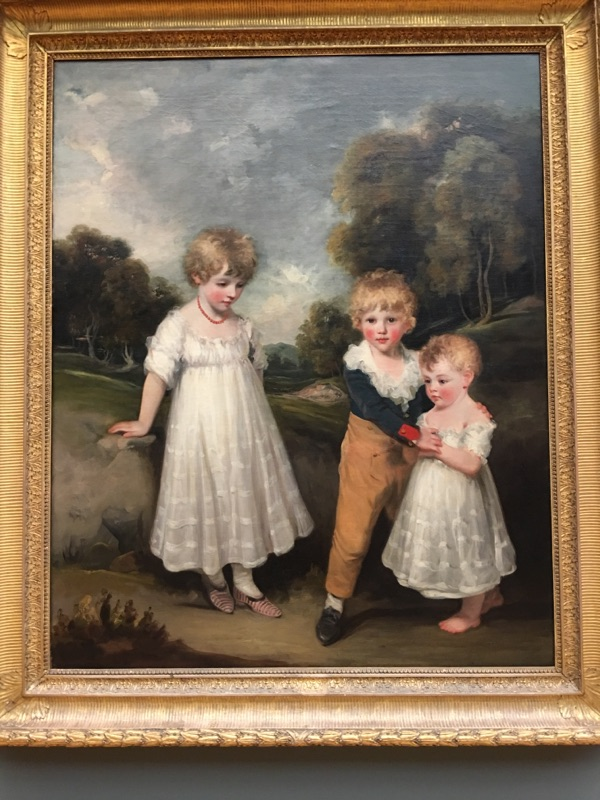 A painting at the Met that reminded me of 17th Century Clark and Allie at Edgefield.