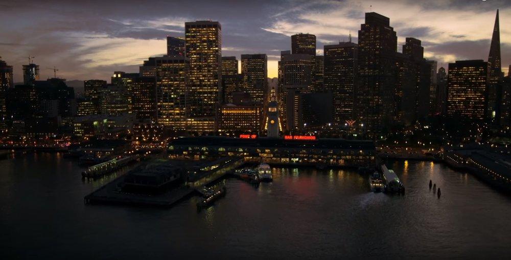 Ferry Blgd night.JPG