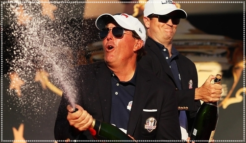 Ryder cup golfspray
