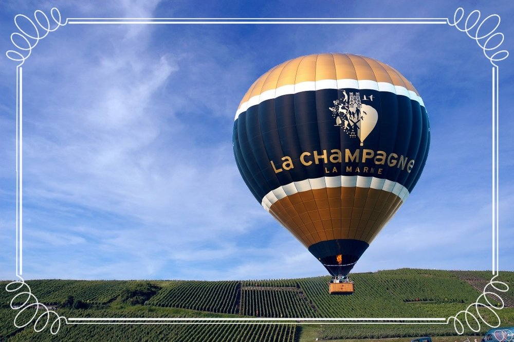 Perfekt semestermål med cykel eller luftballong!