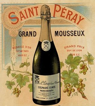 Sabrera Saint-Peray... var inget för  Napol  éon ...