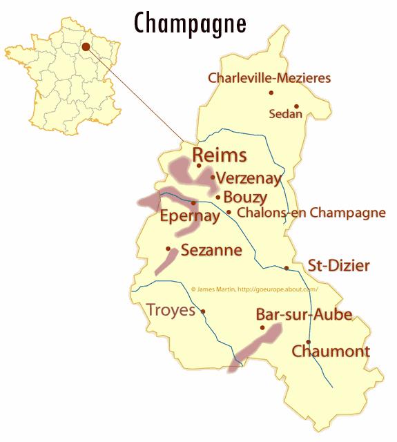 Karta Champagnedistriktet Frankrike.Provning Sabrering Av Champagne Stockholm