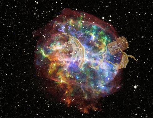 Supernova champagne