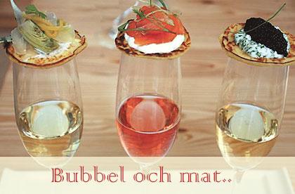 tilltugg champagne, Sabrera på hippan!
