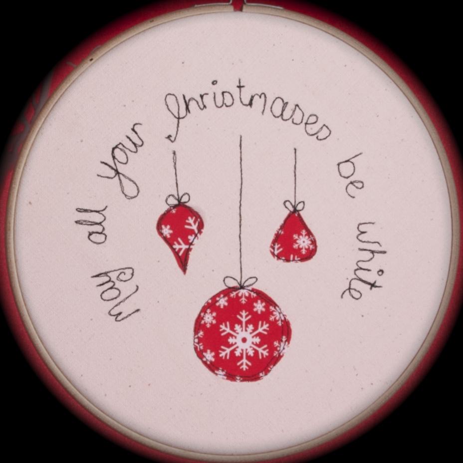 Christmas hoop