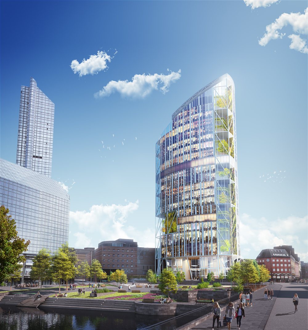Architectual Competition - Lilletorget 1
