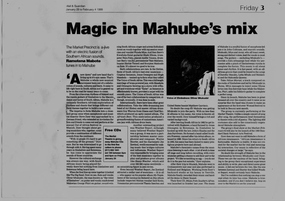 Mahube profile - Ramotena Mabote
