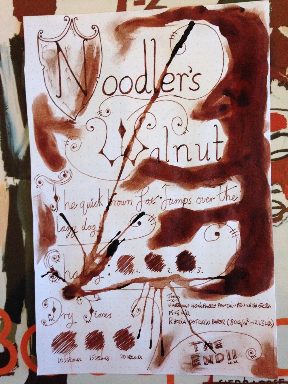 Noodler's Walnut