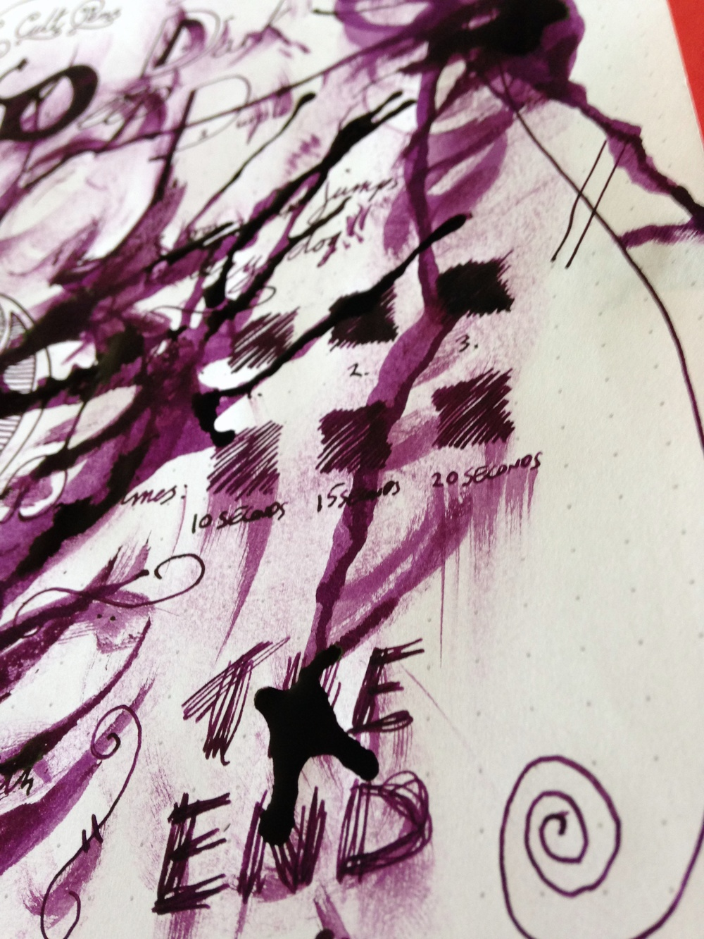 Cult Pens Deep Dark Purple