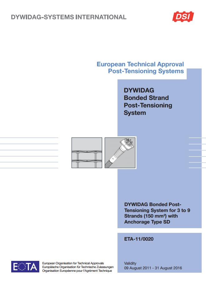 ETA-11/0020 SD System