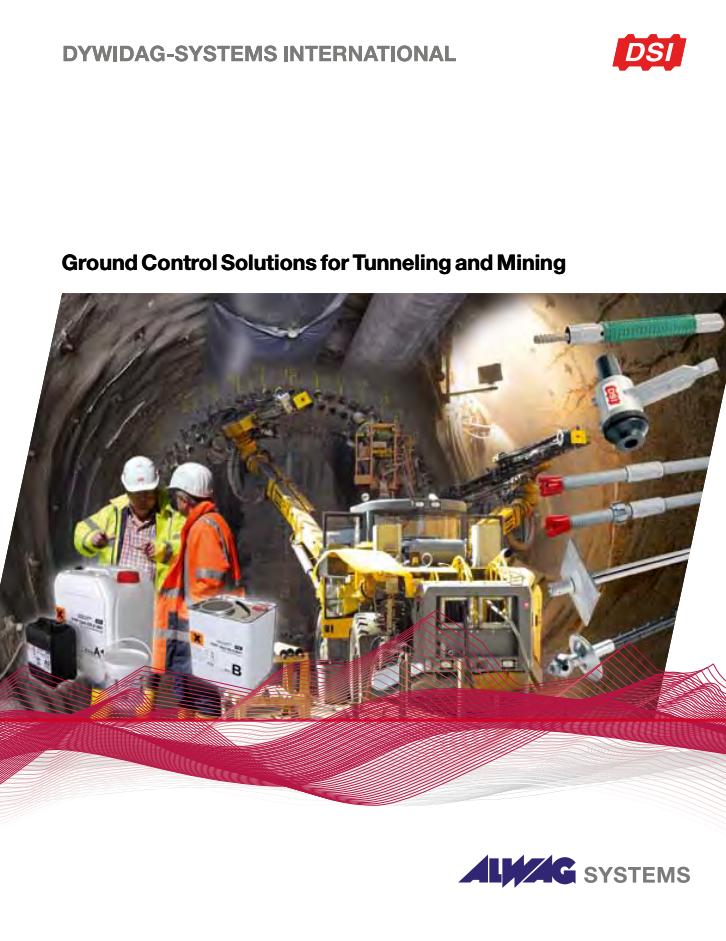 Komplett Tunnel & Gruv produktkatalog