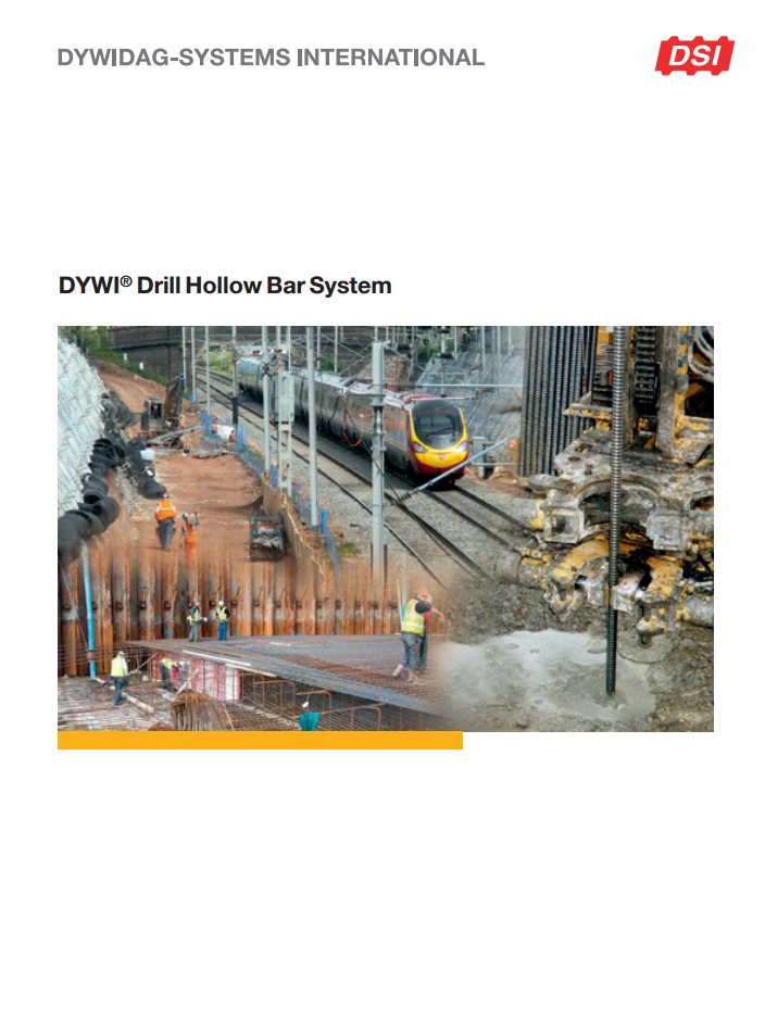 DYWI-Drill Hollow Bar System