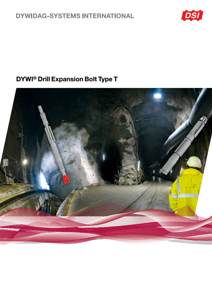 DYWI-Drill Expansion Bolt Type T