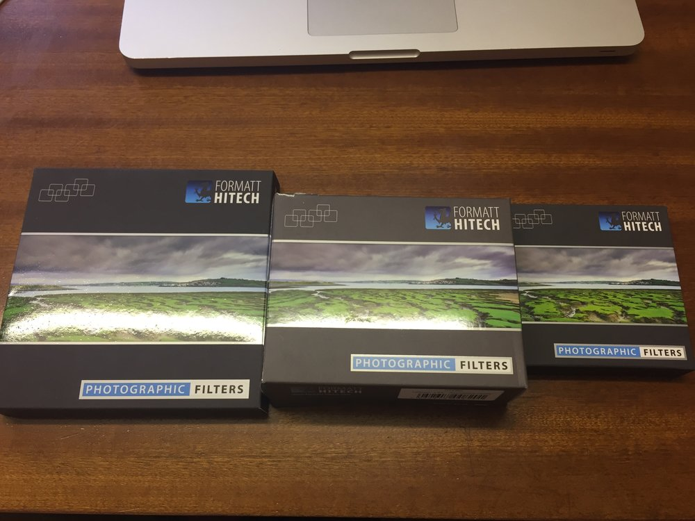 New Formatt Hitech square filters!