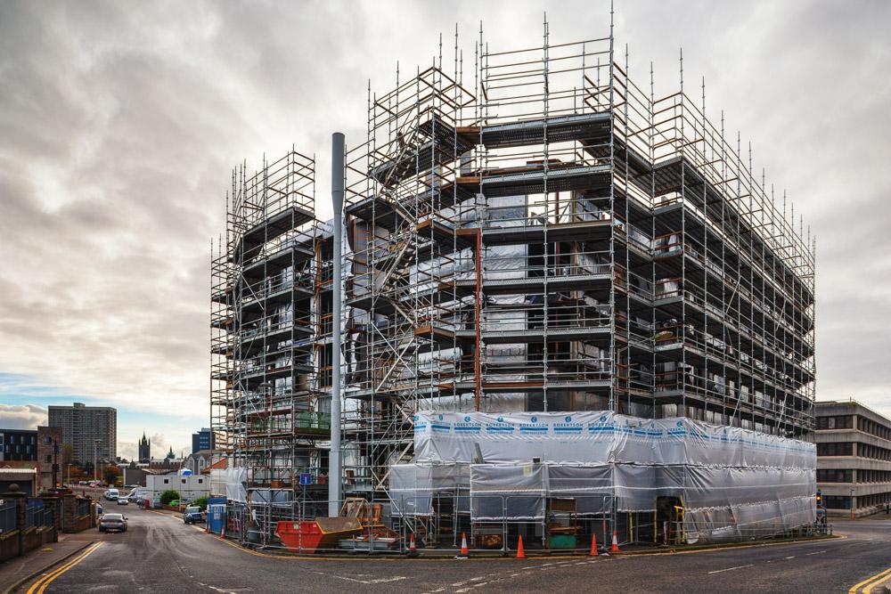 Fraser Studios | Robertson Construction | Aberdeen, Scotland