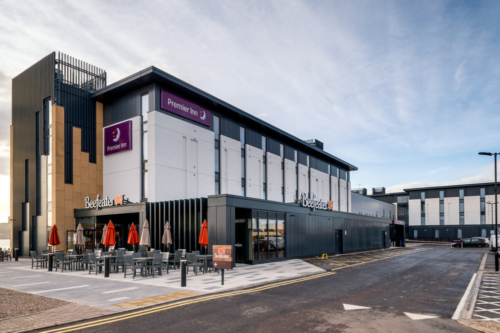 Premier Inn | Ogilvie Construction | Dundee