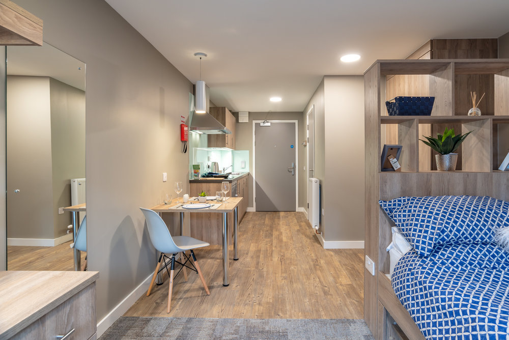 Student Accommodation | Ogilvie Construction | The Combworks, Aberdeen