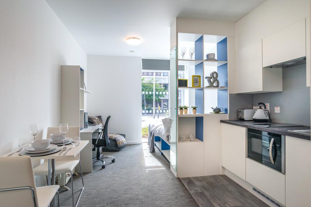 Student Accommodation | Robertson Construction | Fraser Studios, Aberdeen