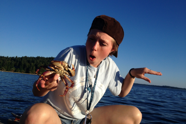 Laura Crabbing