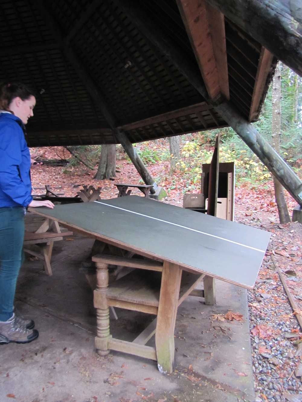 YMCA Camp Colman Ping Pong Benches