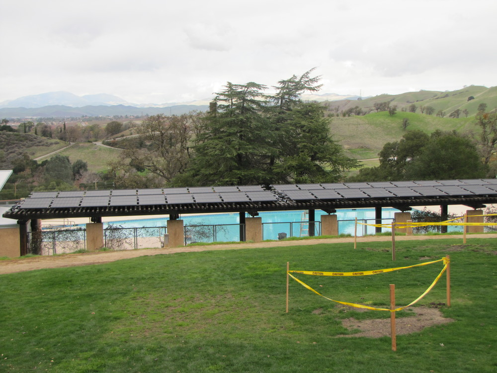 Camp Arroyo Solar Heated Pool