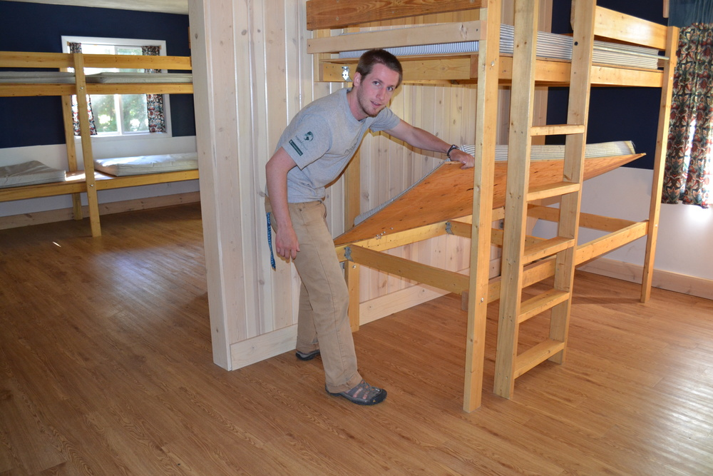 Hinged Beds to Check for Bed Bugs Camp Edwards