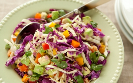 Lemony Cabbage Avocado Slaw from  Whole Foods