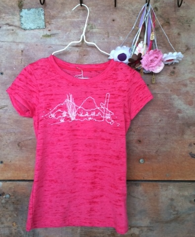Girls Landscape Tee