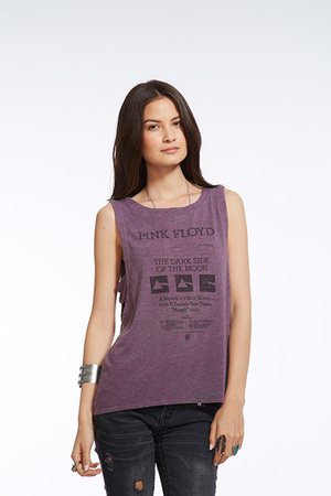 Dark Side of the Moon Tank. We love the edgy side cutouts on this top!