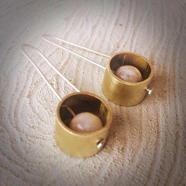 brass earrings w pink stone.jpg