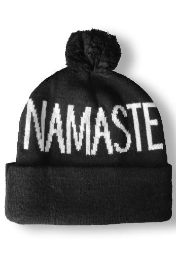 Namaste Pom Beanie