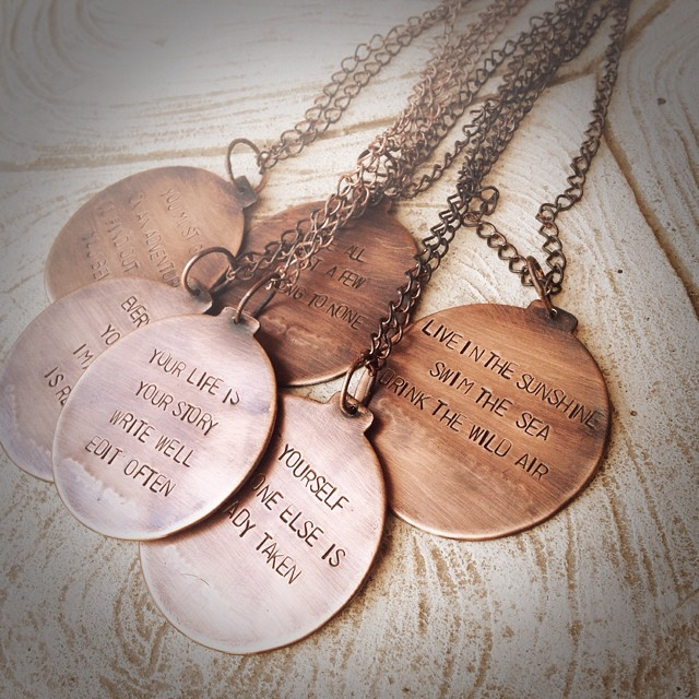 Inspiration Necklaces $18