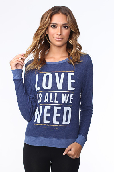 Love is All You Need Savasana Pullover
