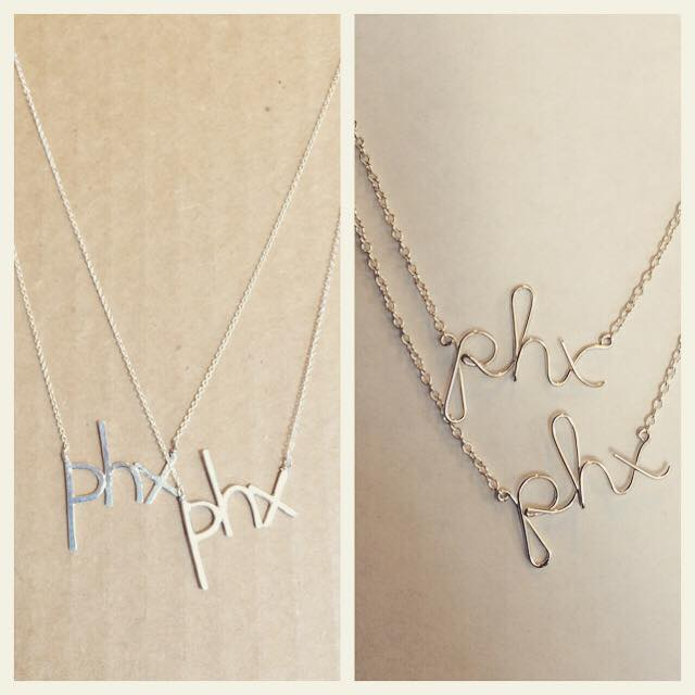 Sterling phx Necklace