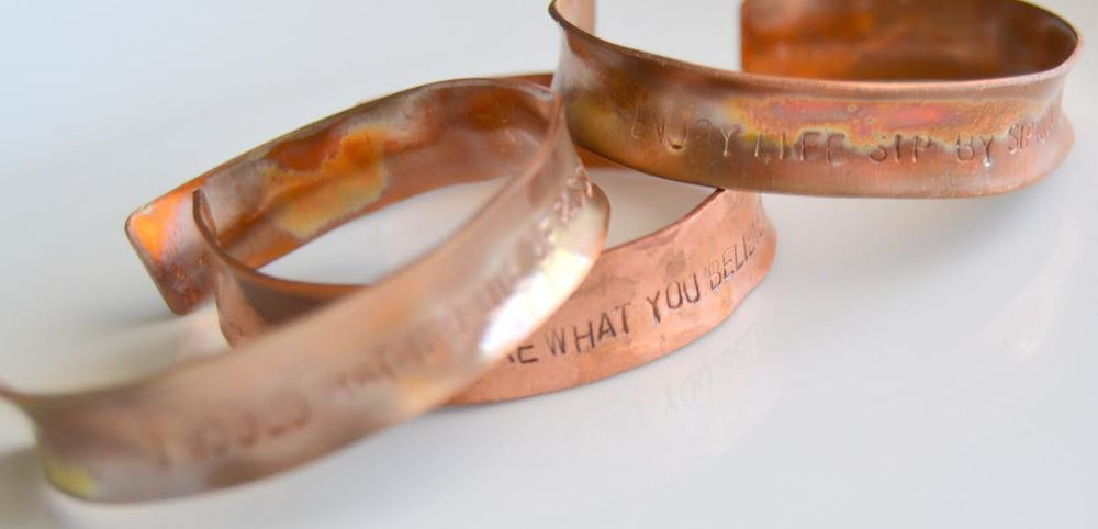 Inspiration Bangles, Copper