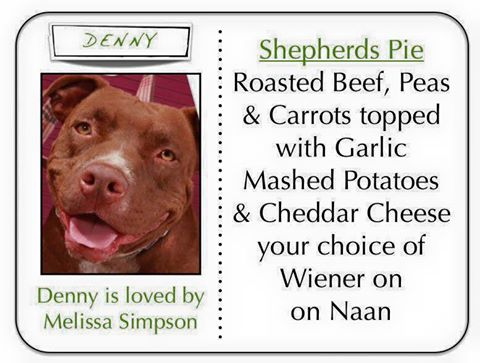 The 'Deny Dog' special of the week