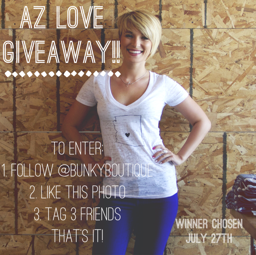 Win this eclusive AZ LOVE V-neck