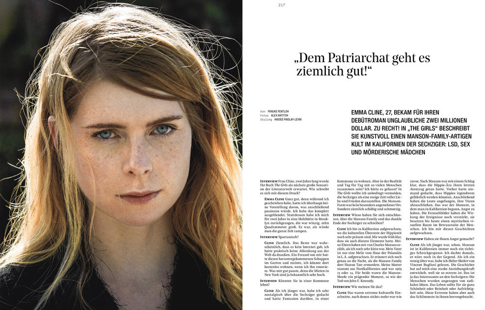 Emma Cline - Interview Germany